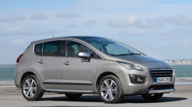 Used Peugeot 3008 - front