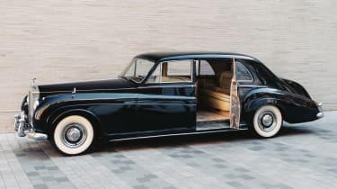 Rolls Royce Phantom EV - door