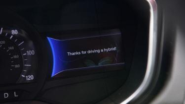 Ford Mondeo Hybrid Estate - dials
