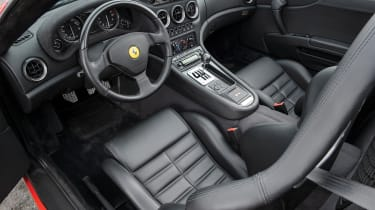 RM Sotheby's 2017 Paris auction - 2001 Ferrari 550 Barchetta Pininfarina interior