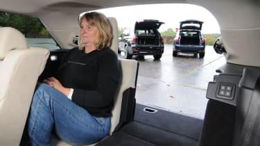 BMW X5 vs rivals interior