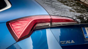 Skoda Scala - rearlight
