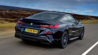 BMW 8 Series - rear tracking