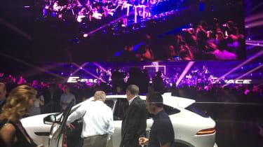 Jaguar E-Pace launch - live music