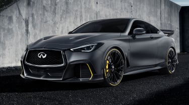 Infiniti Project Black S front static