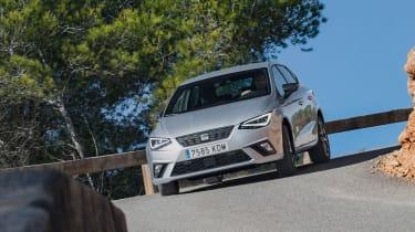 SEAT Ibiza diesel - front cornering
