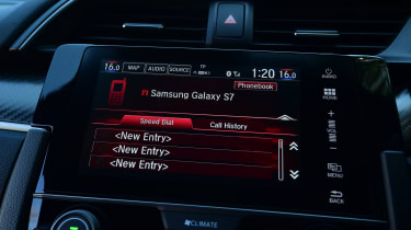 Honda Civic - infotainment