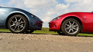 Mazda MX-5 vs Toyota GT86 - Mazda options
