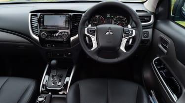Mitsubishi L200 long termer - fourth report dash