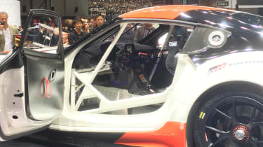 Toyota GR Supra concept Geneva 2018 cabin