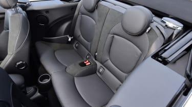 Mini Cooper Convertible Rear Seats