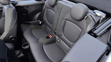 Mini Cooper Convertible Rear Seats