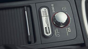Subaru WRX STi centre