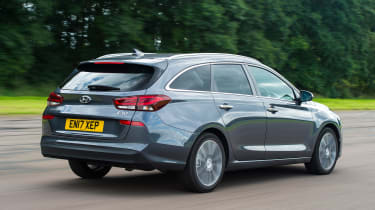 Hyundai i30 Tourer - rear