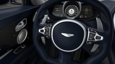 Aston Martin DBS Superleggera Concord - steering wheel