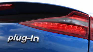 Hyundai Ioniq Plug-in - Plug-in badge