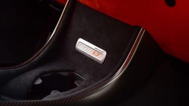 McLaren 600LT Spider - badge