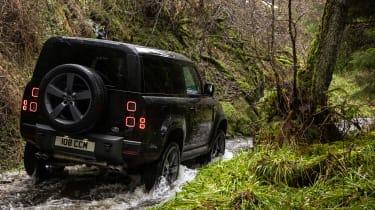 Land Rover Defender 90 V8 - off-road