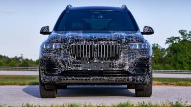 BMW X7 prototype - front