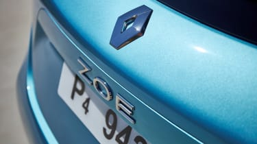 Renault ZOE - Zoe badge