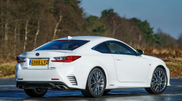 Lexus RC - rear static