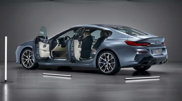 BMW 8 Series Gran Coupe - doors open