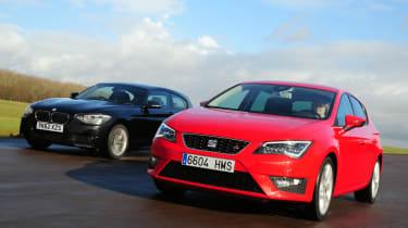 SEAT Leon vs BMW 1 Series