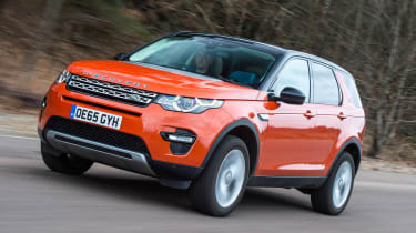 Land Rover Discovery Sport long-term - front