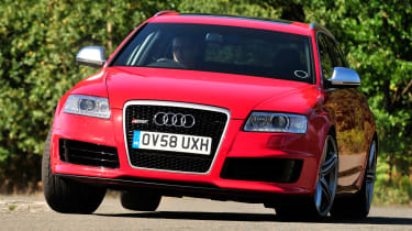 Best cheap hot hatches and performance cars - Audi A6 RS Avant