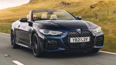 BMW M440i Convertible - front