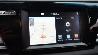 Kia Niro long-term - first report sat-nav