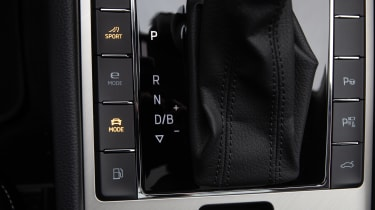 Skoda Superb iV - buttons