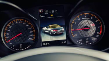 Mercedes-AMG GT C Roadster - dials