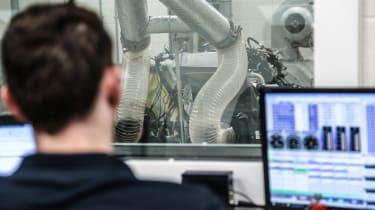 Prodrive biofuel testing - lab