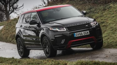 Range Rover Evoque Ember - front cornering
