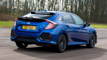 Honda Civic diesel - rear