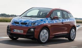 BMW i3 prototype front cornering