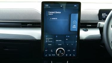 Ford Mustang Mach-E - touchscreen