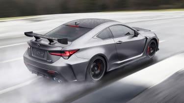 Lexus RC F Track Edition - rear