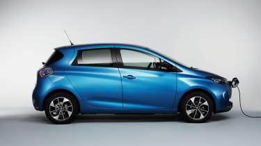 Renault Zoe 2017 - side profile