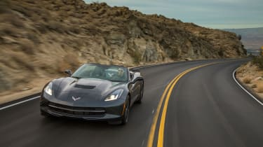 Chevrolet Corvette Stingray Convertible action