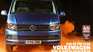 New Car Awards 2016: Van of the Year - Volkswagen Transporter