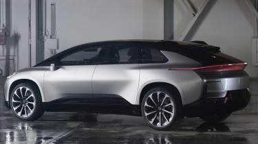 Faraday Future FF91 - rear