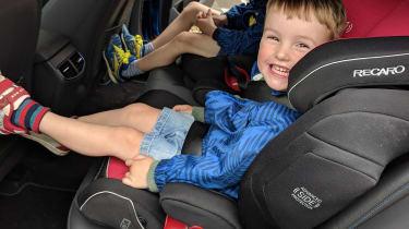 Hyundai Ioniq Plug-in - child