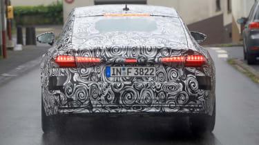 New 2018 Audi A7 spy shot rear