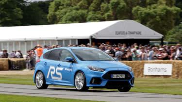 Ken Block Focus RS - front driving