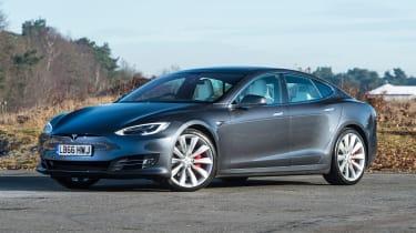 Tesla Model S P100D - front static