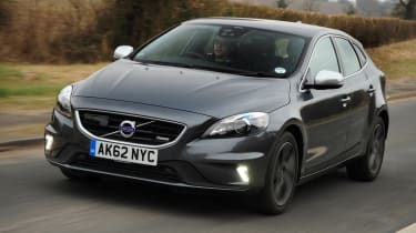 Volvo V40 T3 R-Design front tracking