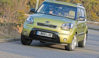 Kia Soul Searcher corner
