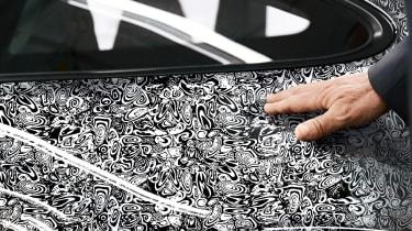 New Porsche 911 - camouflage